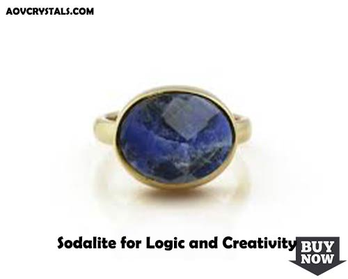 Sodalite for Logic and Creativity