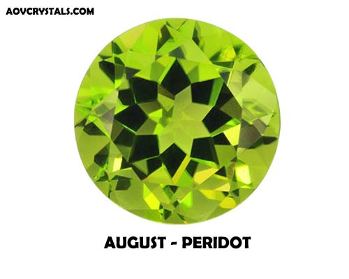 Peridot - Modern August Birthstone