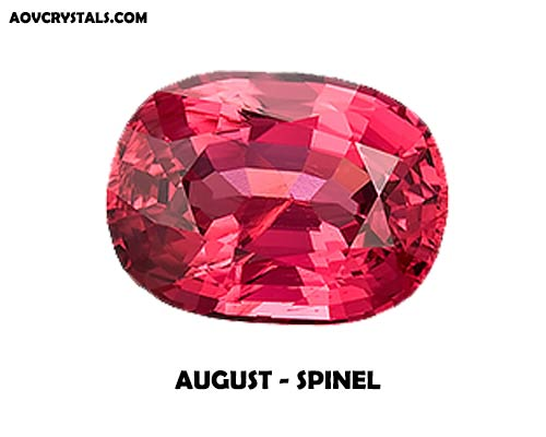 Spinel - Modern August Birthstone
