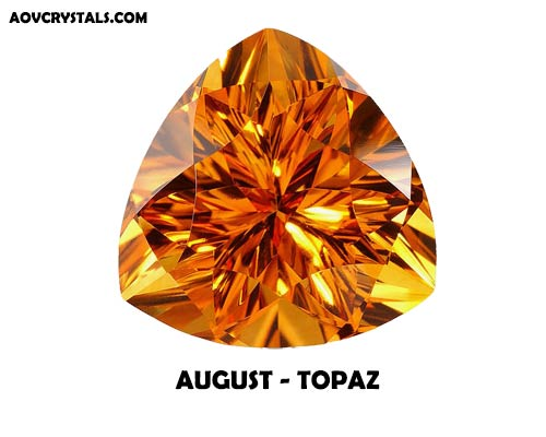 Topaz - Traditional August Birthstone
