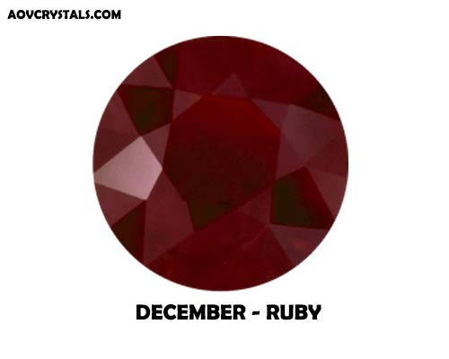 Ruby - December Traditional Birthstone
