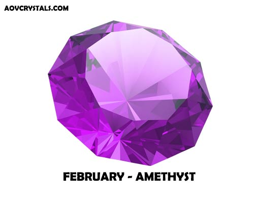 Amethyst - February Traditional Birthstone