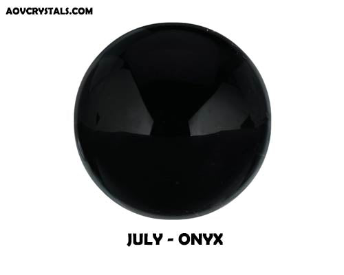 Onyx - Traditional July Birthstone