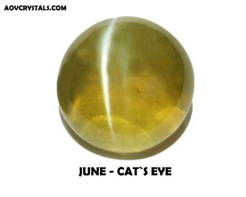 Cats Eye - Traditional June Birthstone