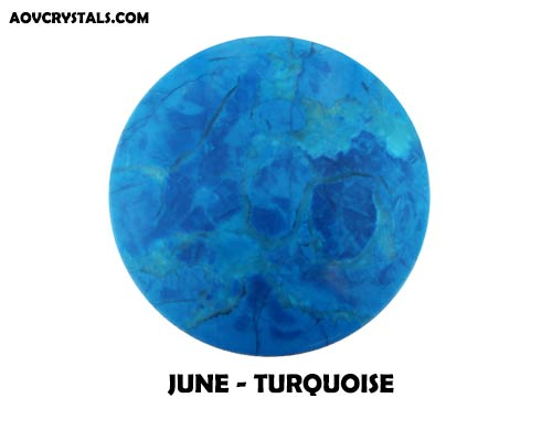 Turquoise - Traditional June Birthstone