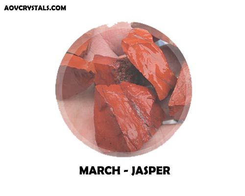 Jasper - Traditional March Birthstone