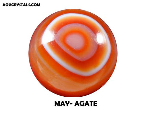 Agate - Traditional May Birthstone
