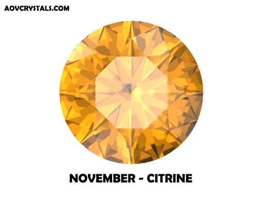 Citrine - Modern November Birthstone