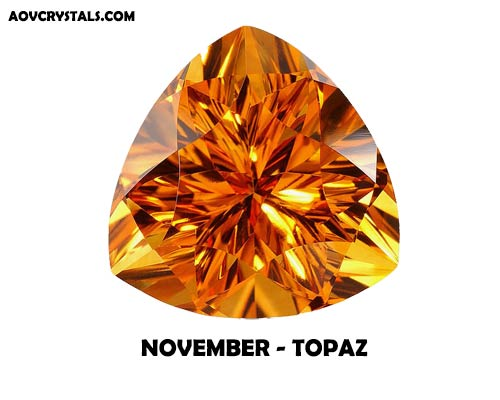 Topaz - Modern November Birthstone