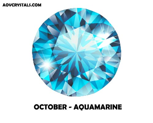 Aquamarine - Traditional October Birthstone