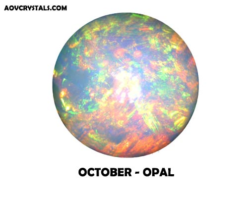 Opal - Traditional October Birthstone