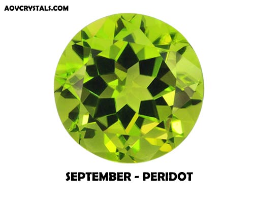 Peridot - Traditional September Birthstone
