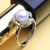 Bohemian Flower Natural Freshwater Pearl Ring