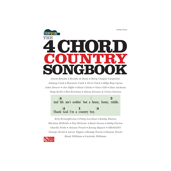 Hal Leonard 4 Chord Country Songbook 0014936