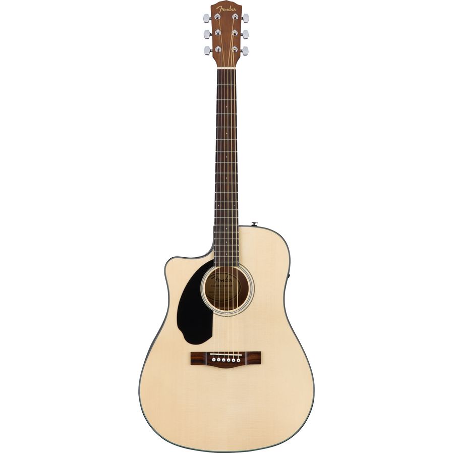 Fender CD-60SCE Acoustic Guitar Left Handed Natural