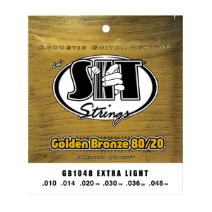 SIT Acoustic Guitar Strings Golden Bronze