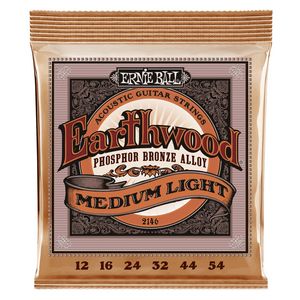 Ernie Ball Earthwood Phosphor Bronze Alloy Acoustic Guitar Strings