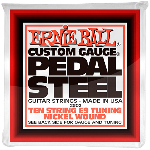 Ernie Ball 2502 Custom Gauge Pedal Steel Guitar Strings E9