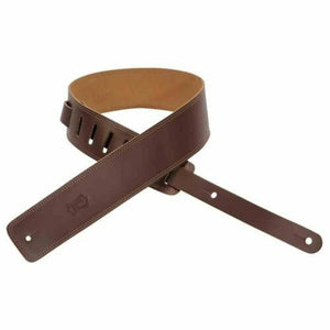 Levy's DM1-BRN Brown Leather Guitar Strap