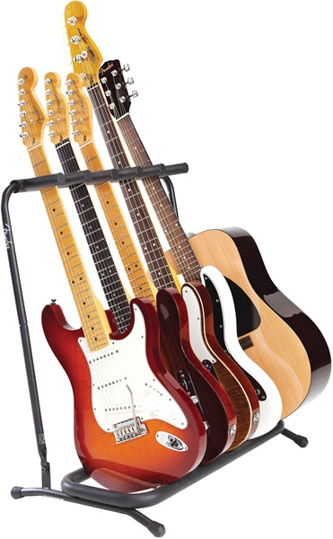 Fender 5-Space Multi-Guitar Stand