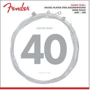 Fender Super 7250's Nickle Plated Steel Wound Bass Strings