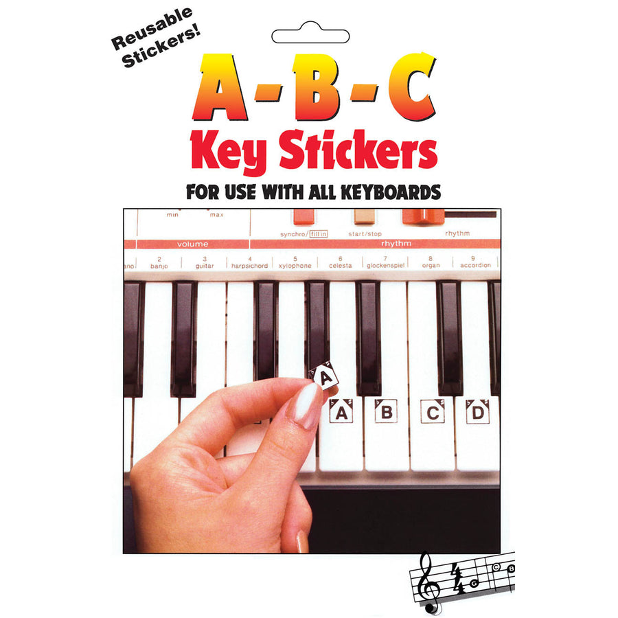 ABC Keyboard stickers 1009