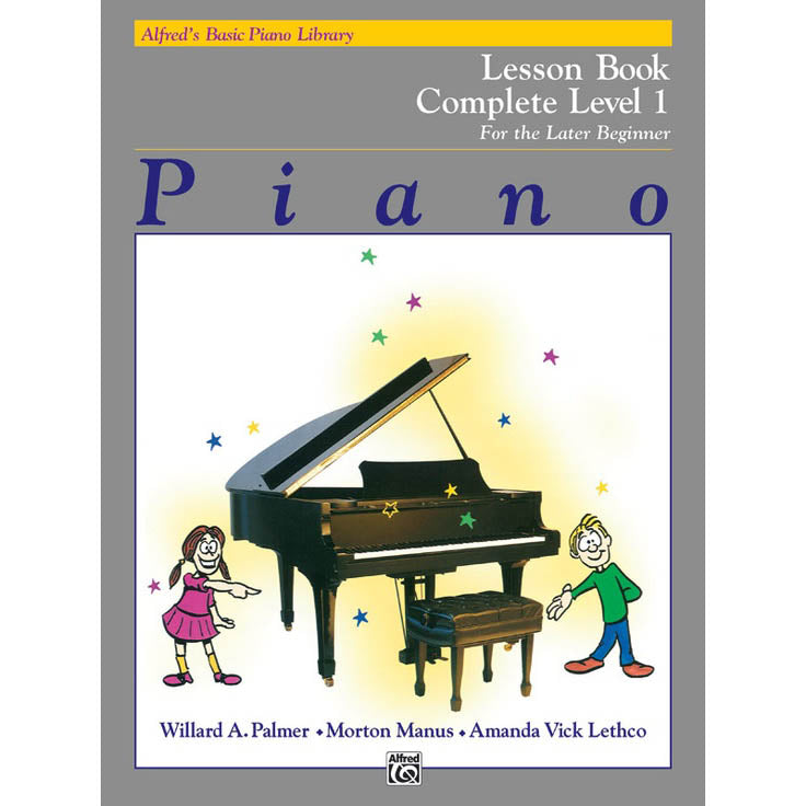 Alfred Lesson Book For the Later Beginner