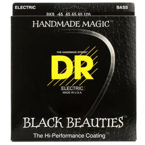 DR Black Beauties Bass Guitar Strings