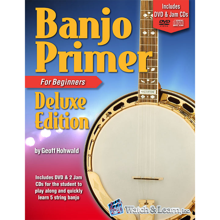 Banjo Primer Deluxe Book with CD