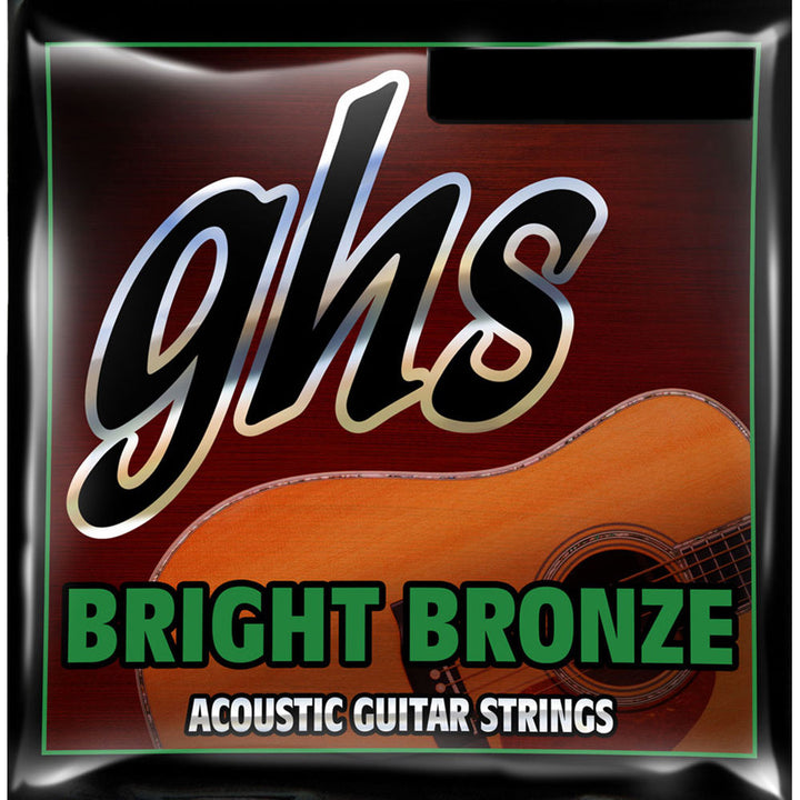 GHS Bright Bronze Acoustic Guitar Strings