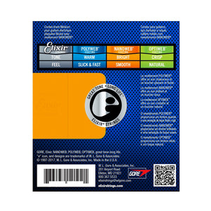 Elixir 12002 Electric Guitar Strings NanoWeb