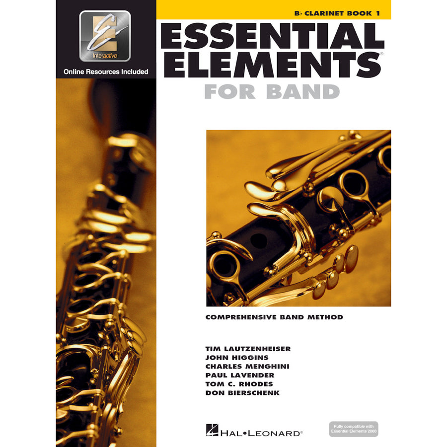 Essential elements 2000 Bb Clarinet book