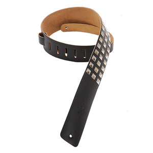 Levy's M1SD-BLK Guitar Strap Studded