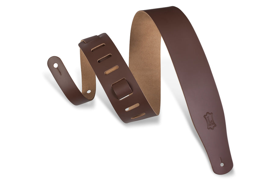 Levy's M26-BRN Leather Guitar Strap