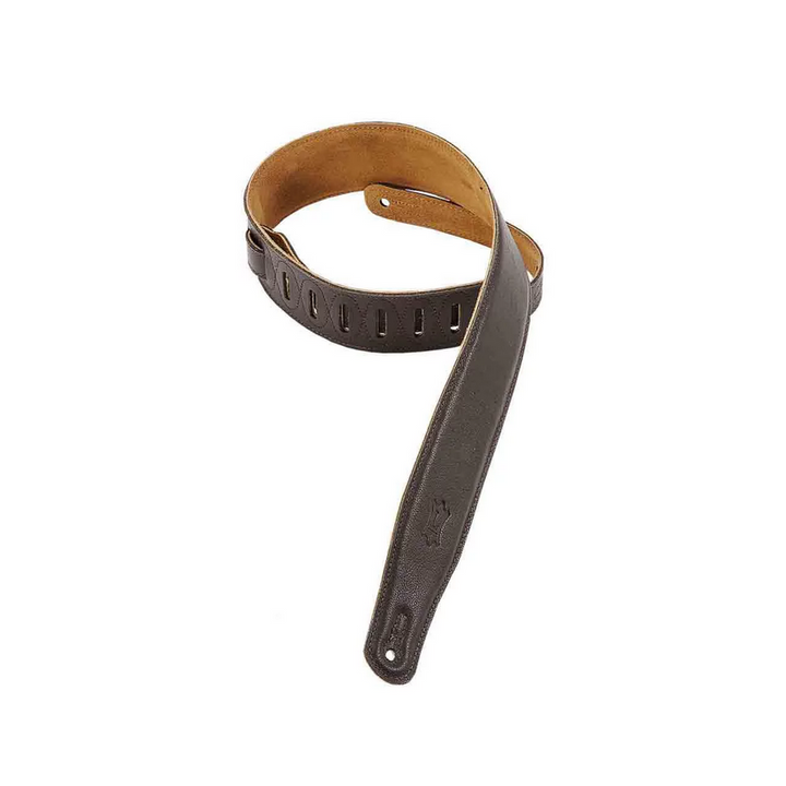 Levy's M26GF-DBRN Guitar Strap Dark Brown