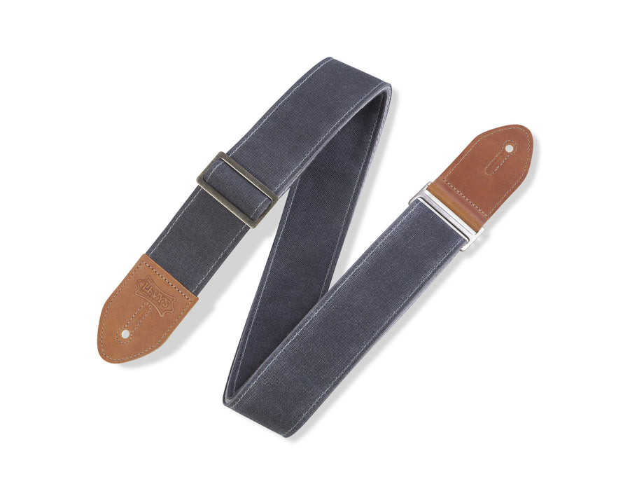 Levy's M7WC-GRY Waxed Canvas Strap Gray