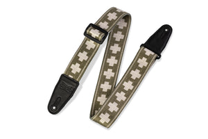 Levy's MP2SLD-007 Polyester Guitar Strap