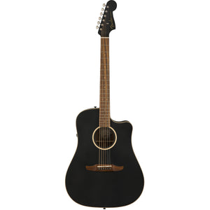 Fender Redondo Special Matte Black Acoustic Electric Guitar