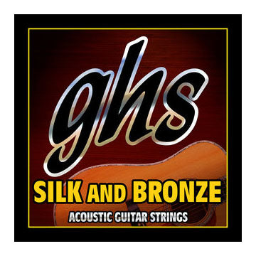 GHS silk and bronze acoustic guitar strings