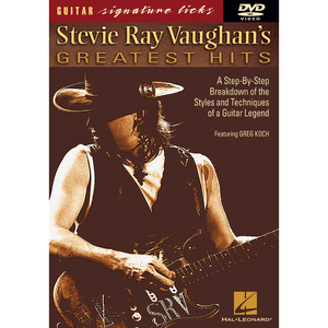 Stevie Ray Vaughan Greatest Hits DVD