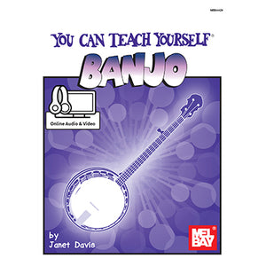 You can teach yourself banjo Book and Onlne/Audio Video