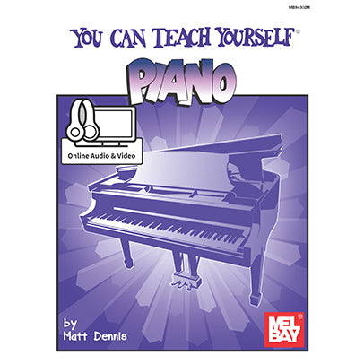 Teach yourself piano book Mel Bay