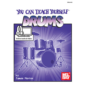 You Can Teach Yourself Drums Book And Online Audio