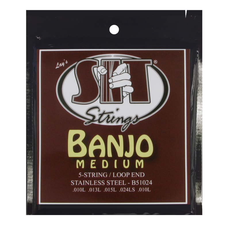 SIT 5 String Loop End Banjo strings