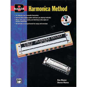 Basix Harmonica Method 16605 Book and CD
