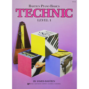 Bastien Piano Basics Technic