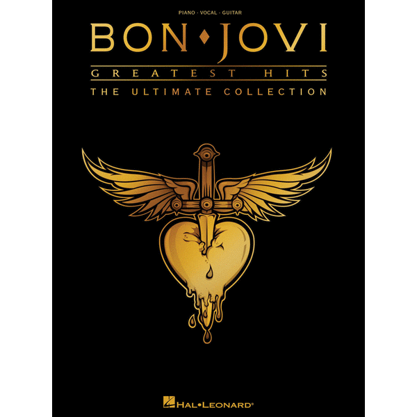 Bon Jovi Greatest Hits Songbook P/V/G or Guitar