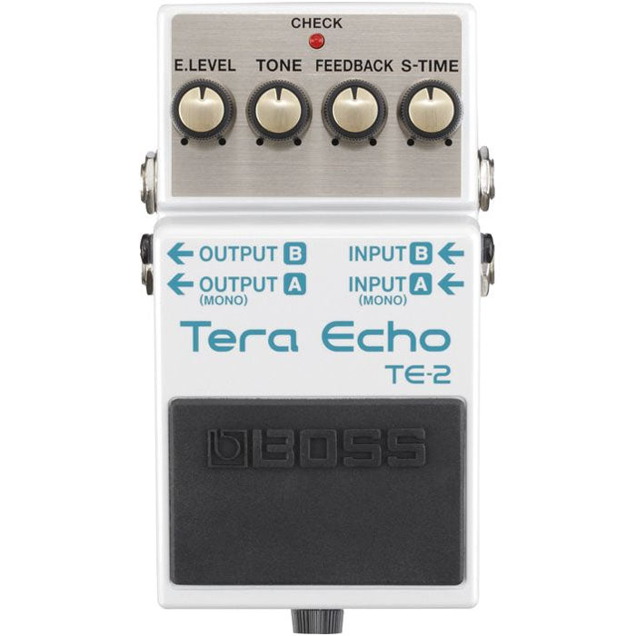 Boss TE 2 Tera Echo Guitar Effects Pedal