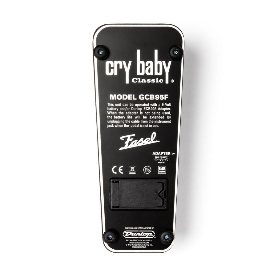Crybaby Wah Pedal GC95F Dunlop