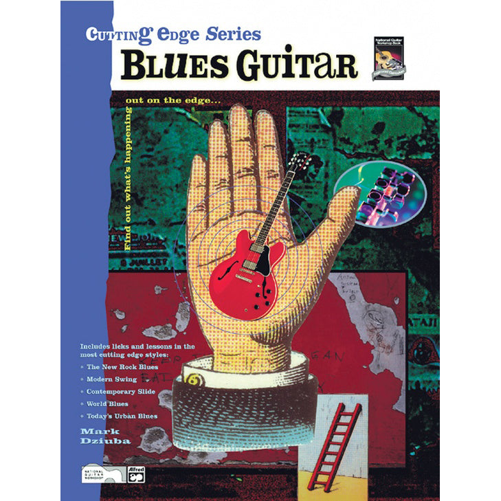 Cutting edge series blues guitar
